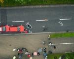 Drohnen-Unfallaufnahme copyright by Microdrones