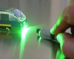 Laserpointer-Attacken